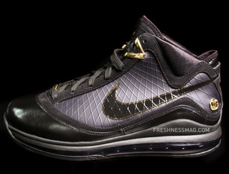 premium selection eaf03 5bc0f Nike Air Max LeBron VII (7) - Black Gold