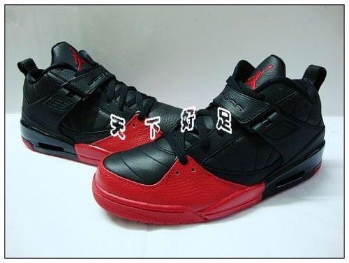 Air Jordan Flight 45 - Black/Varsity Red