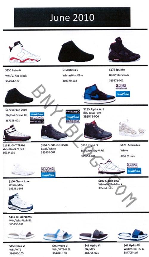 Air Jordan - June 2010 Release