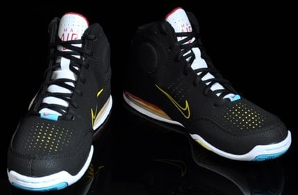 new product 8f862 7fe8f Nike Air Max Spot Up Black-White Varsity Maize   SneakerFiles