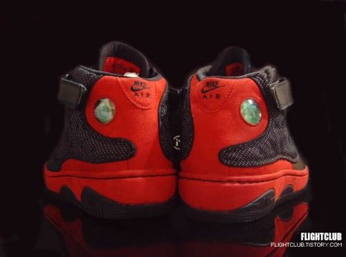 Air Jordan Force Fusion XIII (13) - Black/Varisty Red