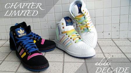Puntuación Cilios creciendo  Chapter Express x Adidas Decade Hi W - Black & White   SneakerFiles