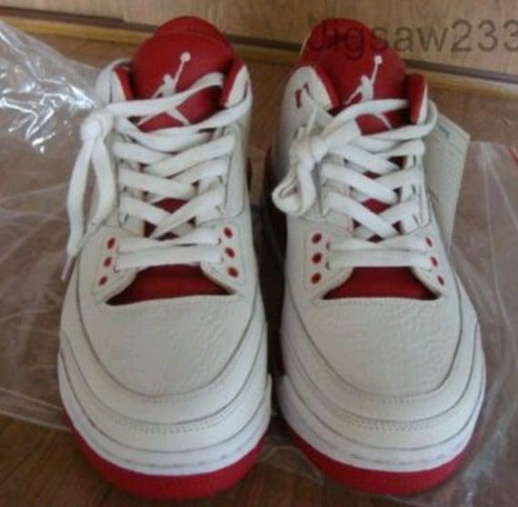 Air Jordan III (3) - 2006 Wear Test Sample