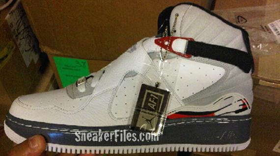 Nike Air Jordan Fusion VIII (8) - White / Black - Red