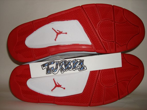Air Jordan IV (4) - Carmelo Anthony Olympic PE