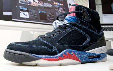 Air Jordan Sixty Plus (60+) - Detroit Pistons