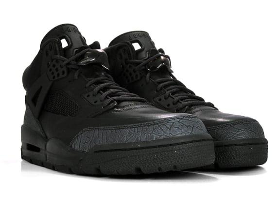 1ce708a1bf456f Air Jordan Winterized Spizike Boot - Black   Dark Cinder