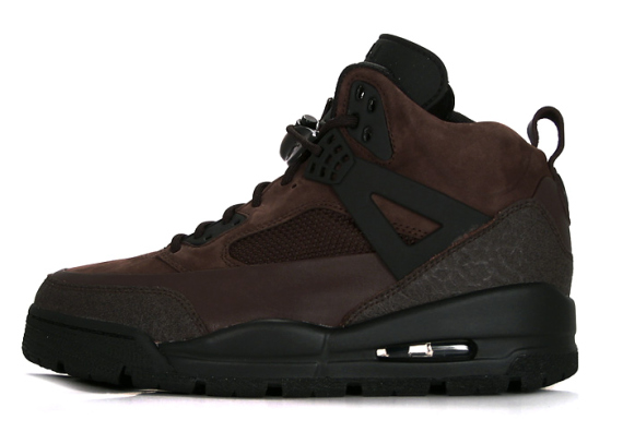 Air Jordan Winterized Spizike Boot - Black & Dark Cinder