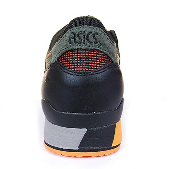 Asics Gel Lyte III - Olive / Black / Orange