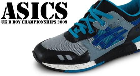 UK B-Boy Championships x Asics GT-III