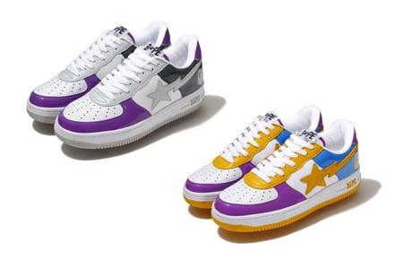 Bape Bapesta - LA & NY Store Colors