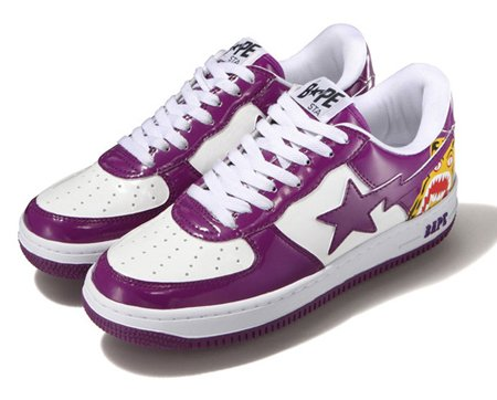 Bape Bapesta - Tiger Exclusives