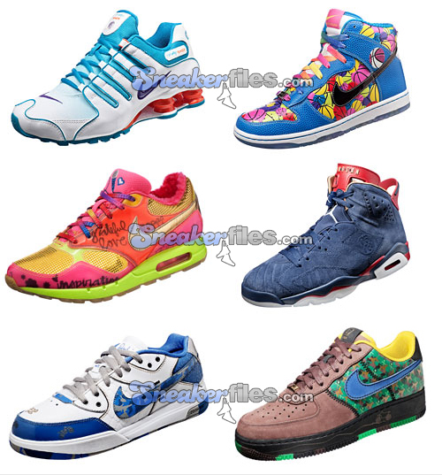 7e5f5136ab00 Nike Doernbecher Freestyle - Charity Collection 2009