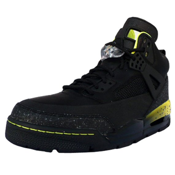 Air Jordan Spizike Winter Boot - Black / Yellow
