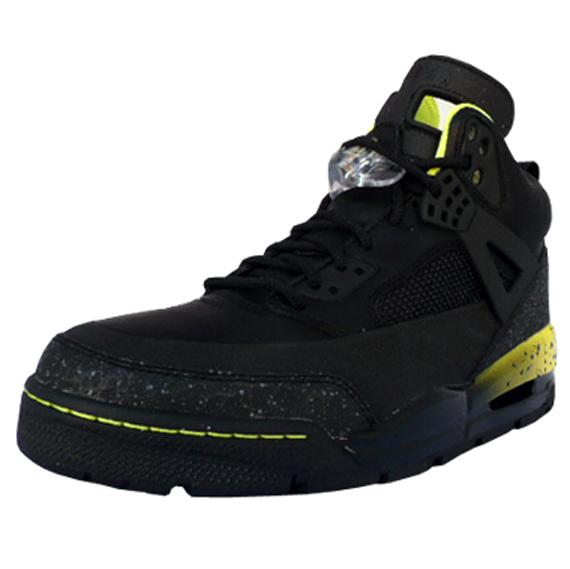 a75a0b6ac9a796 Air Jordan Spizike Winter Boot - Black   Yellow