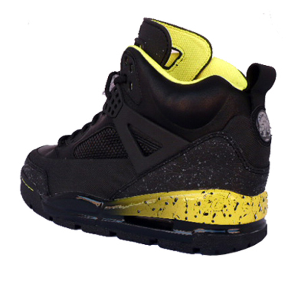 Air Jordan Spizike Winter Boot - Black   Yellow  ad61eab71ca0