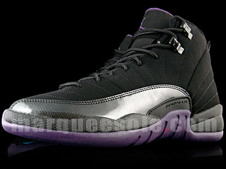 Air Jordan XII (12) GS - Black / Varsity Purple