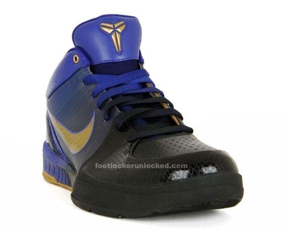 Nike Zoom Kobe IV - Black - Metallic Gold - Concord - October '09