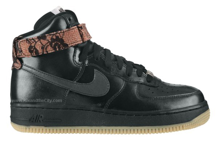 Nike Air Force 1 High Women's - Black / Gum