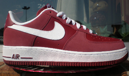 Nike Air Force 1 - Team Red