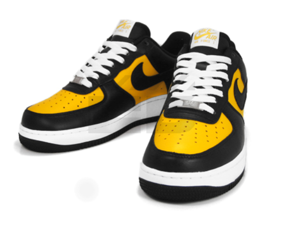 Nike Air Force 1 - Varsity Maize / Black - White