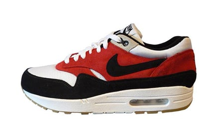 wholesale dealer dcb11 36d7e Nike Air Max 1 ND - White   Black - Red