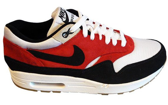 wholesale dealer d1239 c4962 Nike Air Max 1 ND - White   Black - Red