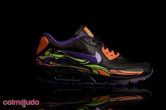 cheap for discount 11873 954e7 ... switzerland nike air max 90 day of the dead d720c ceda5