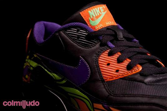 Nike Air Max 90 - Day of the Dead  c3d712b55402