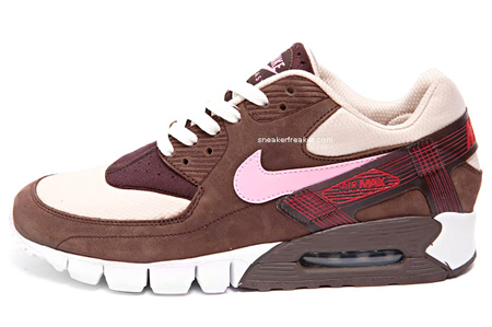 sports shoes b3000 2912a DQM x Nike Air Max 90 Current Huarache - Bacon
