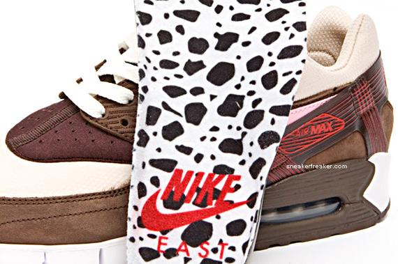 DQM x Nike Air Max 90 Current Huarache - Bacon