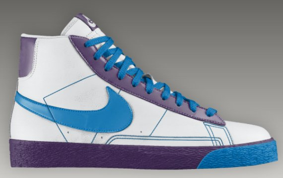 Nike Blazer High - Now Available on Nike iD