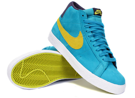 Nike Blazer SB Premium - Aquamarine / Electrolime