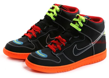 Cassette Playa x Nike Dunk High Premium - Rivals Pack