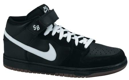 Nike SB Dunk Mid Pro - Black / White