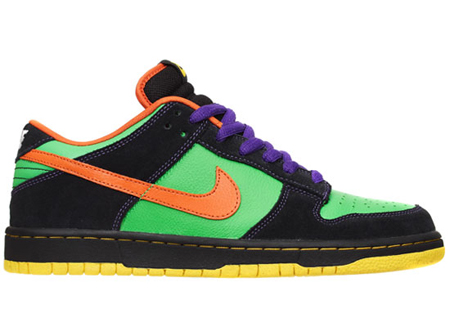Nike SB Dunk Low Premium - Green Spark / Hoop Orange