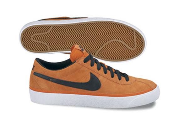 Nike Zoom Bruin SB - Orange / Black