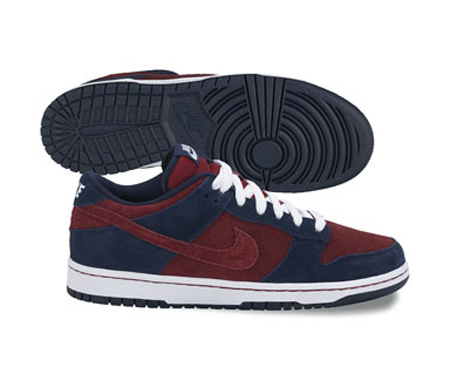 Nike SB Dunk Low Pro - Obsidian / Team Red