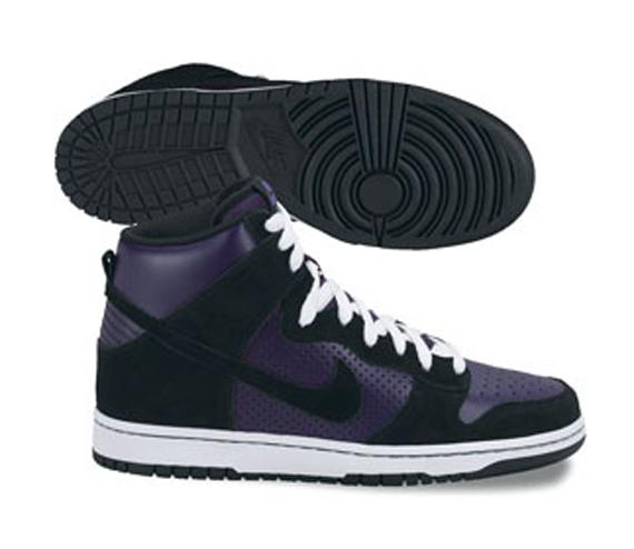 Nike Dunk Hi Pro SB - Black / Grand Purple