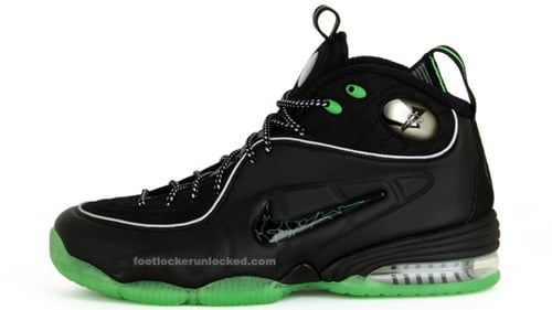 Nike Penny 1/2 Cent Black/Green Spark/Metallic Silver - Release Date