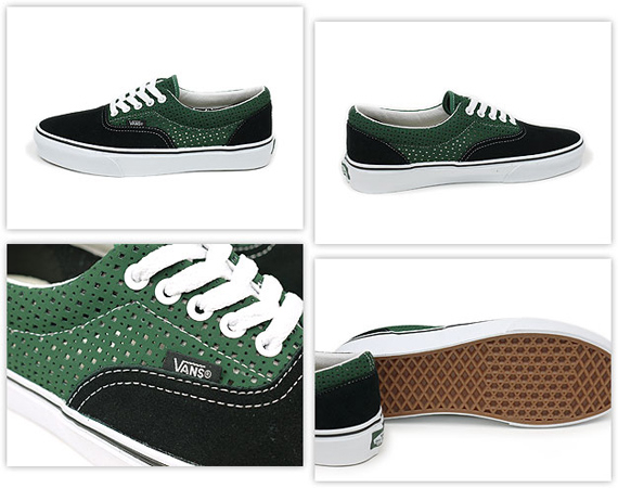 Vans Perforated Pack - Era & Half Cab