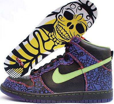 first rate e7641 9863f Many have been looking forward to trying to get their hands on one or all  of the shoes included in Nikes 2009 Day of the Dead Collection.