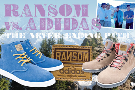 Ransom x Adidas Originals - The Never Ending Path Project