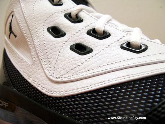 Air Jordan XVI.6 (16.5) - White / Black - Blue