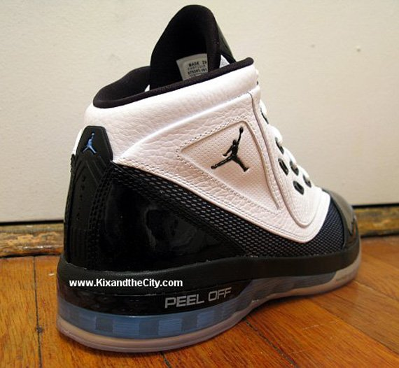 Air Jordan XVI.6 (16.5) - White / Black - Blue