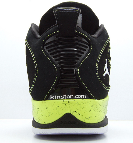 Air Jordan Hallowed Ground - Black / Volt