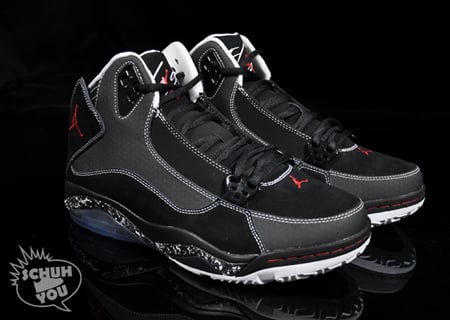 Air Jordan Ol' School III - Black / Varsity Red / White