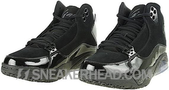 Air Jordan Ol' School III - Black / Metallic Silver - Dark Charcoal