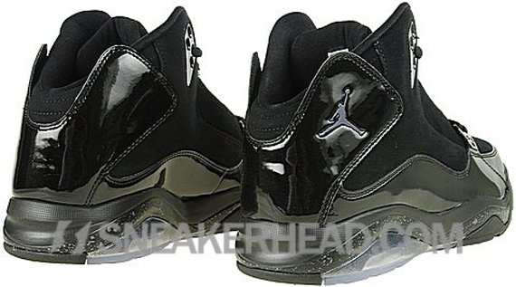 Air Jordan Ol' School III - Black / Metallic Silver - Dark Charcoal
