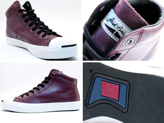 Converse Jack Purcell Mid - Waxed Leather